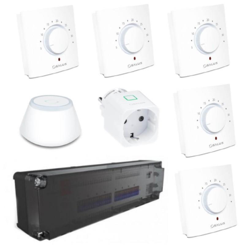 Комплект керування теплою підлогою на 5 зон Smart UFH 5 ECO