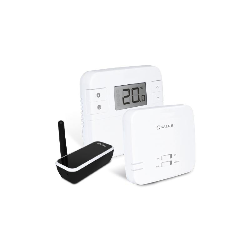 Програмований терморегулятор з можливістю управління через інтернет SALUS RT310I