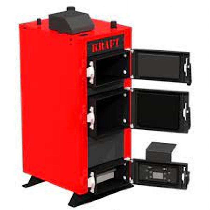 Твердопаливний котел KRAFT модель Е New