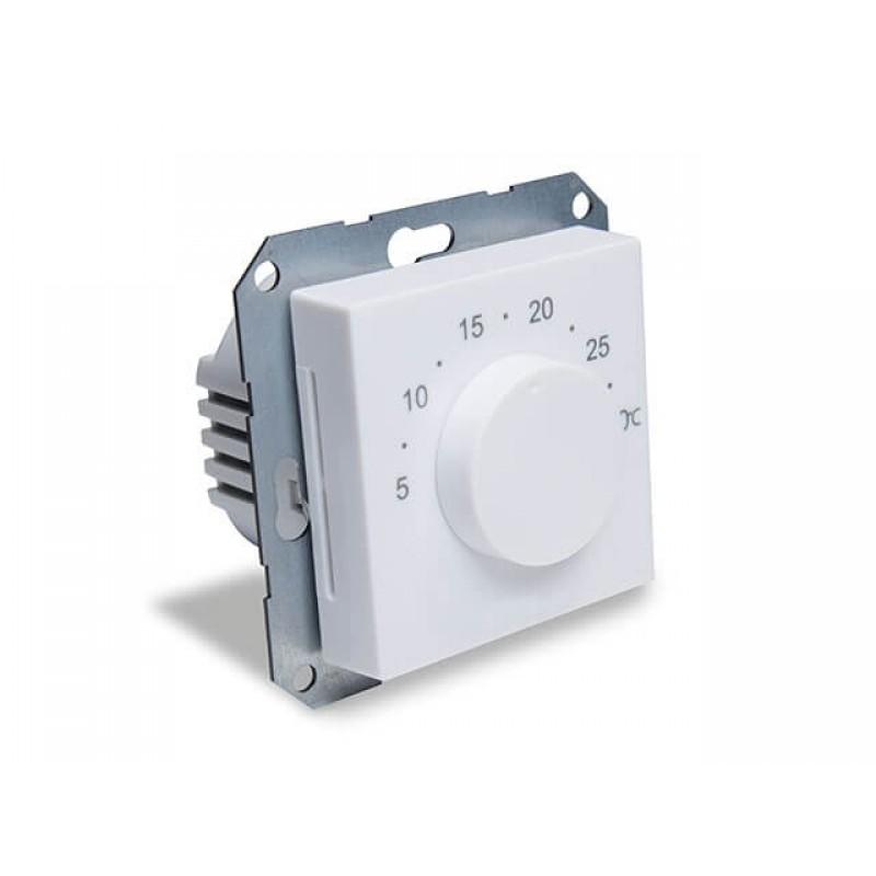Зональний терморегулятор з круговою шкалою, дротовий, 220В, вбуд. під рамки 55x55 мм SALUS BTR230 (20)