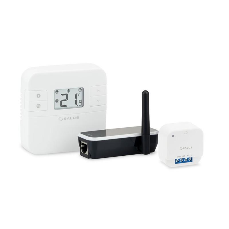 Беспроводной терморегулятор Серии RT с управлением через Интернет с исполнительным устройством в виде умного реле 16A RT310iSR