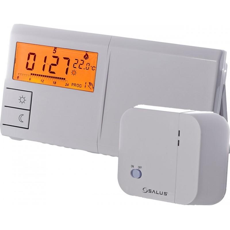 Терморегулятор программируемый беспроводной цифровой SALUS 091FLRF V2недельный