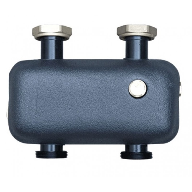 Гидравлическая стрелка с теплоизоляцией для горизонтальной / вертикальной установки